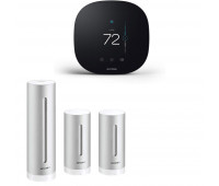 ecobee3 lite Smart Thermostat Bundle with Netatmo Weather Station, NWS01-US + Netatmo Indoor Module, NIM01-WW