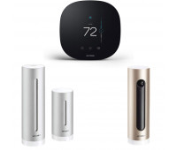 ecobee3 lite Smart Thermostat Bundle with Netatmo Weather Station, NWS01-US + Netatmo Welcome, Indoor security camera