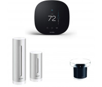 ecobee3 lite Smart Thermostat Bundle with Netatmo Weather Station, NWS01-US + Rain Gauge for Netatmo Weather Station