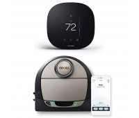 ecobee3 lite Smart Thermostat Bundle with Neato Robotics D7 Connected Laser Guided Robot Vacuum