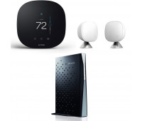 ecobee3 lite Smart Thermostat Bundle with TP-LINK Archer CR700 AC1750 Wireless Dual Band 16x4 DOCSIS 3.0 Cable Modem Router + ecobee Room Sensor 2 Pack with Stands
