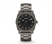Fossil Men's Machine Smoke Stainless Steel Watch