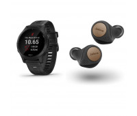 Garmin Forerunner 945 With Jabra Elite Active 75t Bluetooth Earbuds