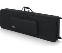 Gator Cases Rigid EPS Foam Lightweight Case w/ Wheels for 88-Note Keyboards