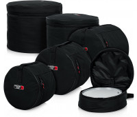 "Gator Cases Standard Drum Set Bags: 22""X18"", 12""X10"", 13""X11"", 16""X16"", 14""X5.5"""