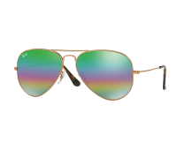 Ray-Ban Aviator Mineral Flash Lens Sunglasses