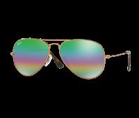Ray-Ban Aviator Mineral Flash Lens Sunglasses