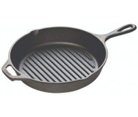 "Lodge 10.25"" Cast Iron Grill Pan"