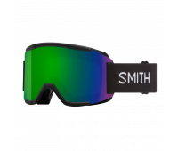 Smith Optics - Squad Chromapop Sun Green Mirror Goggles - Black