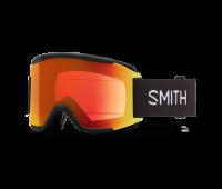Smith Optics - Squad Chromapop Everyday Red Mirror Goggles - Black
