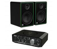 Mackie Bundle With Onyx Artist 1•2 + Mackie CR Series Studio Monitor (CR5-X)