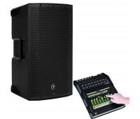 """Mackie Bundle With Mackie Digital Mixer - 16-Channel + Mackie Thump 12BST - 1300W 12"""" Powered Loudspeaker"""