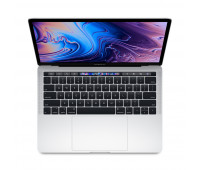 Apple -  13-inch MacBook Pro with Touch Bar: 1.4GHz quad-core 8th-generation IntelᅠCoreᅠi5 processor, 256GB - Silver