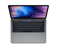 Apple -  13-inch MacBook Pro with Touch Bar: 2.4GHz quad-core 8th-generation IntelᅠCoreᅠi5 processor, 512GB - Space Gray