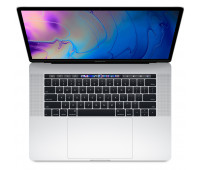 Apple -  15-inch MacBook Pro with Touch Bar: 2.3GHz 8-core 9th-generation IntelᅠCoreᅠi9 processor, 512GB - Silver