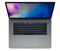 Apple -  15-inch MacBook Pro with Touch Bar: 2.6GHz 6-core 9th-generation IntelᅠCoreᅠi7 processor, 256GB - Space Gray