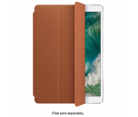 Apple - Leather Smart Cover for 10.5-inch iPad Pro - Saddle Brown