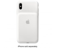 Apple - iPhone XS Smart Battery Case - White