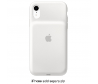 Apple - iPhone XR Smart Battery Case - White