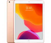 Apple -  10.2-inch iPad Wi-Fi + Cellular 32GB - Gold