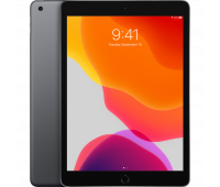Apple -  10.2-inch iPad Wi-Fi + Cellular 128GB - Space Gray