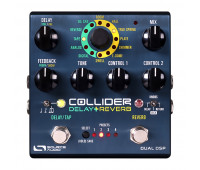 Source Audio - One Series Collider Delay & Reverb - MIDI Compatible Effects Pedal