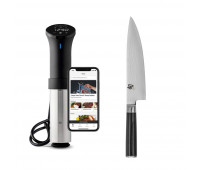 "Shun Classic Chef's 6"" + Anova Culinary AN500-US00 Sous Vide Precision Cooker (WiFi)"