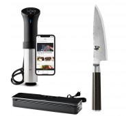 "Anova Bundle With Shun Classic Chef's 6"" + Anova Culinary AN500-US00 Sous Vide Precision Cooker (WiFi) + Precision Vacuum Sealer"
