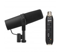 Shure SM7B Vocal Microphone + X2U Microphone to USB Adapter Bundle