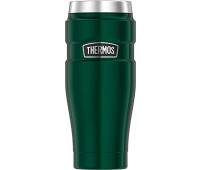 Thermos - Stainless King 16oz Travel Tumbler, Pine Green