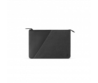 """Native Union Stow 12"""" Laptop Sleeve – Sleek & Slim 360-Degree Protection with Exterior Pocket – Compatible with MacBook 12"""" (Slate)"""