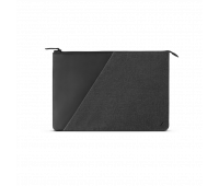 """Native Union Stow 15""""-16"""" Laptop Sleeve – Sleek & Slim 360-Degree Protection with Exterior Pocket – Compatible with MacBook Pro 16"""", MacBook Pro 15"""" (2016-2019) (Slate)"""