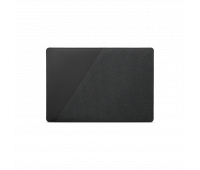 """Native Union Stow Slim for MacBook Pro 16"""", MacBook Pro 15"""" (2016-2019) – Premium MacBook Sleeve with Easy-Access Magnetic Closure and Exterior Pocket (Slate)"""