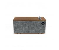 Klipsch - Heritage Wireless The One II Tabletop Stereo, Walnut
