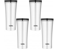 Thermos 16oz Vacuum Insulated Stainless Steel Travel Tumbler - 4 Pack
