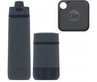 Thermos + Tile Bundle: Guardian 24oz Steel Hydration + 18oz Food Jar, Blue + Tile Pro (2020) - 1 Pack
