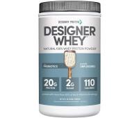 Designer Protein - Designer Whey Protein Powder -Purely Unflavored (2lb)