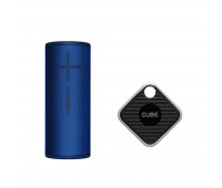 Ultimate Ears Bundle with BOOM 3 - Lagoon Blue + Cube Pro