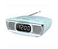 Retro Bedside Alarm Clock with CD