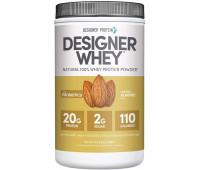 Designer Protein - Designer Whey Protein Powder - Vanilla Almond (1.9lb)