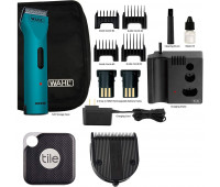Wahl +Tile Bundle - Wahl Professional Animal Arco Pet, Dog, Cat, and Horse Cordless Clipper Kit - Teal + Wahl Professional Animal 5-in-1 Diamond Blade + Tile Pro Smart Tracker