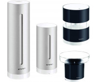 Netatmo Weather Station Bundle -  Indoor Outdoor with Wireless Outdoor Sensor, Wind Sensor, and Rain Gauge