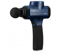 LifePro Sonic - Handheld Percussion Massage Gun - Blue