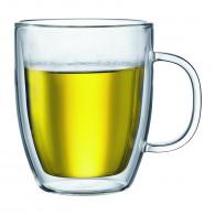 Bodum - 2 pcs jumbo mug, double wall, 0.45 l, 15 oz